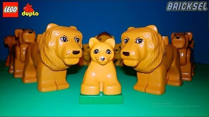 Львиное Сердце. Юмор LEGO DUPLO. (Lions Heart. Humour LEGO DUPLO)
