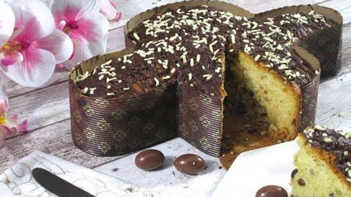 Colomba di Pasqua al Cioccolato VELOCE senza Glassa | Francesca Sugar Art