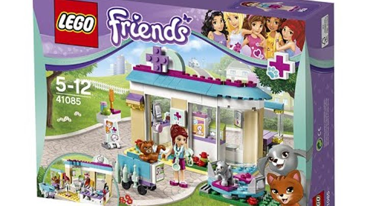 Лего Френдс. Мелисса и Лего Френдс. (Lego Friends 41085)