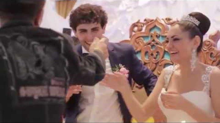 Поздравление Друзей на свадьбе Хачатура и Сусанны