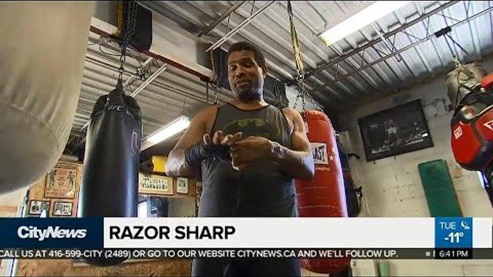 Donovan 'Razor' Ruddock prepares for comeback
