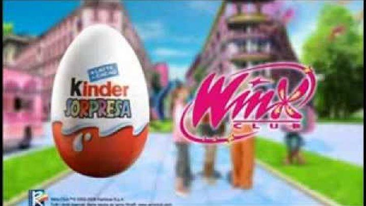 Kinder Surprise - Winx Enchantix
