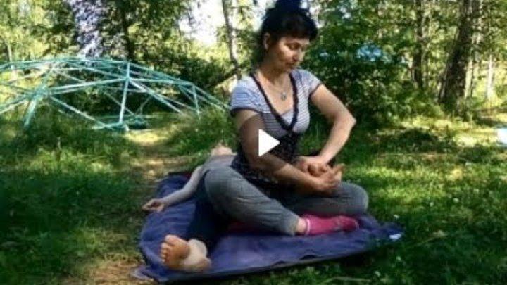 Тайский массаж в исполнении Нины Добровольской