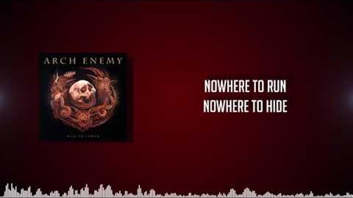 Arch Enemy - Blood In The Water (LYRICS VIDEO HD)