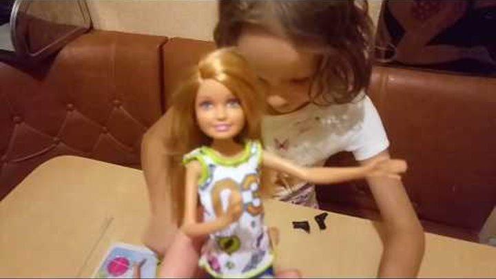 """""""Стейси и Барби на прогулке""""обзор кукол из серии """" Барби и ее сестры"""""""