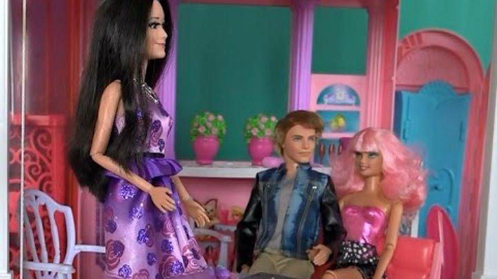 Видео с куклами Барби дом мечты, серия 483, Ракель пытается соблазнить Кена, но ее усилия напрасны
