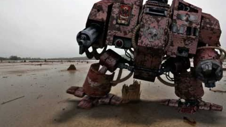 Warhammer Dreadnought 3D animation