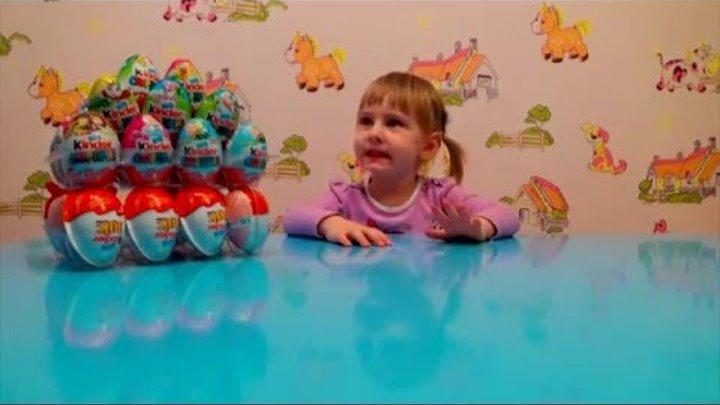 Новинки 2016! Фиксики и другие Киндер Сюрприз распаковка игрушек Kinder Surprise Disney Planes