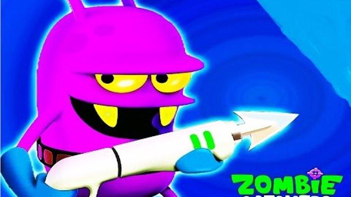 Охотники на зомби #8 игра как мультик для детей про Ловцов зомби #Мобильные игры