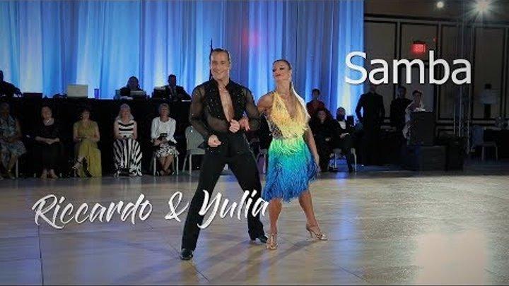 Riccardo Cocchi & Yulia Zagoruychenko I Showdance Samba (Original)