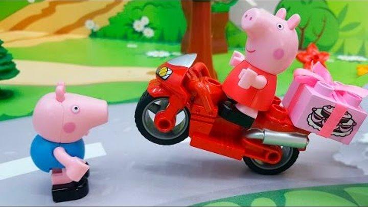 Мультики. Пеппа Мультфильм - Пеппа спешит на праздник. Видео для детей. Свинка Новые серии 2016 года