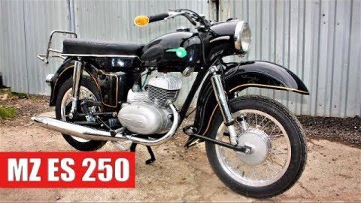 Мотоцикл MZ ES 250 Реставрация