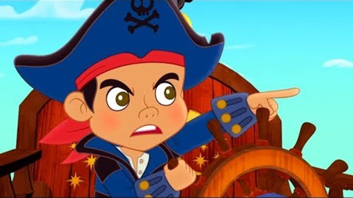 Джейк и Пираты Нетландии - Призраки земли Небытия/ Волшебный кавардак - серия 6, сезон 4 | Disney