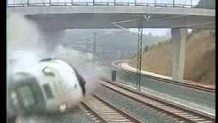 ДТП Крушение поезда! Spain Train Accident crash. Nuevo! Испания аварии поезда