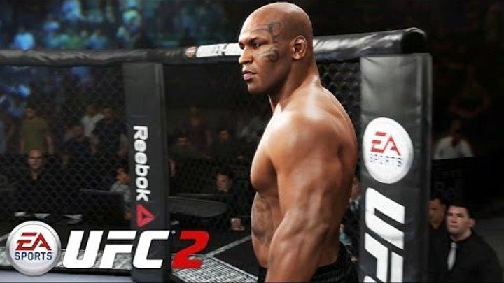 EA Sports UFC 2 - Mike Tyson vs Cain Velasquez Gameplay PS4 / Xbox One