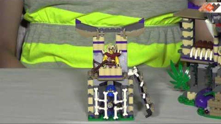 Обзор Lego Ninjago 70749 Лего Ниндзяго Храм клана Анакондрай. В продаже на TOY.RU