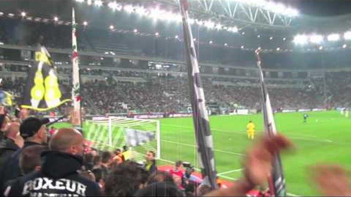 Juventus Inter 2 a 0 25/03/2012 Curva Sud