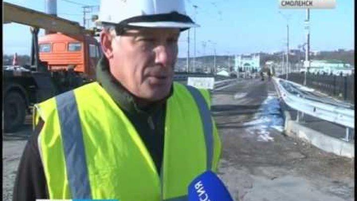 В Смоленске завершается ремонт путепровода