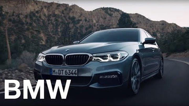 Бизнес. Лучший. Спорт. Новый BMW 5 серии.