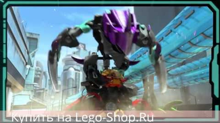 Кусачий монстр против Стормера - Лего 44016 Фабрика Героев   Lego 44016 Hero Factory