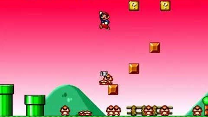 Прохождение игры Mario Forever (3)