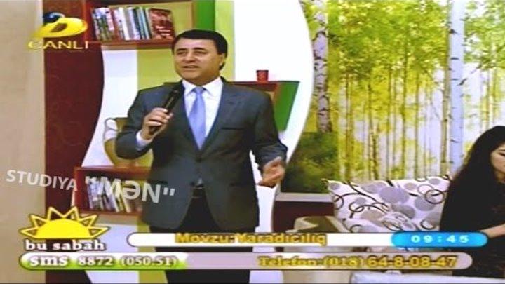 "Tagi Salahoglu- ""Menim ureyimde""- BU SABAH Dunya TV-04 04 2015"