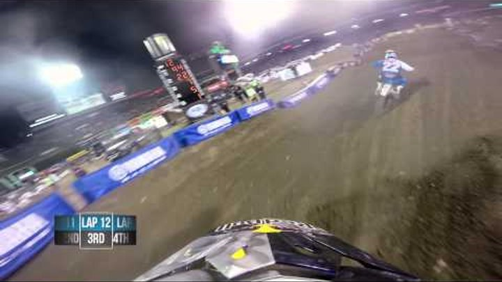 GoPro HD: James Stewart Main Event 2014 Monster Energy Supercross from Anaheim 1