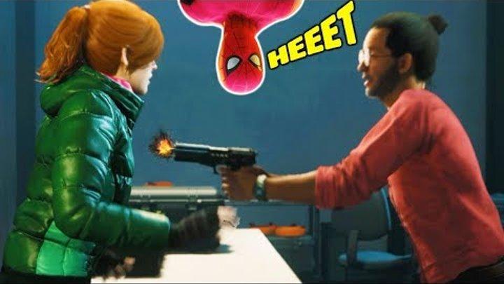 Человек паук Мэри Джей в ОПАСНОСТИ! Прохождения игры как мультик Marvel's Spider Man #21