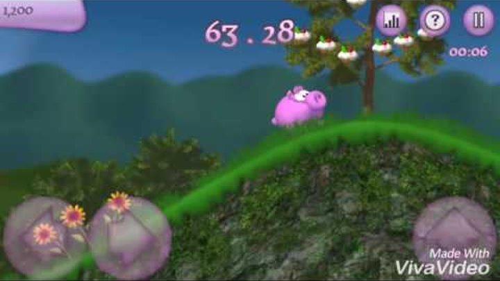 Let's play Piggly level 16 Sugar Rush Прохождение игры Поросёнок уровень 16 Сладкие гонки