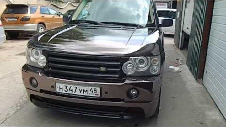 Range Rover черный хром INDIVIDUAL_DESIGN.RU
