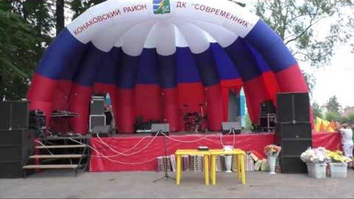 Торжественное открытие концерта с показа Театра мод, Шляпы Фетровой фабрики