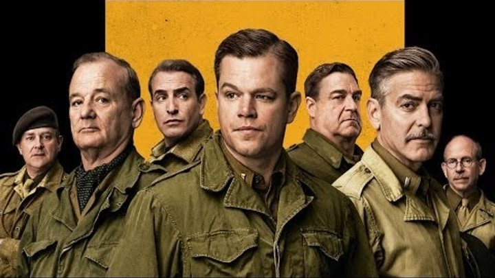"Мэтт Дэймон про военную драму Джорджа Клуни ""Охотники за сокровищами"". Индустрия кино от 21.02.14"