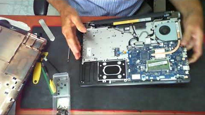 Lenovo Ideapad 110-15acl Replace Memory Harddrive
