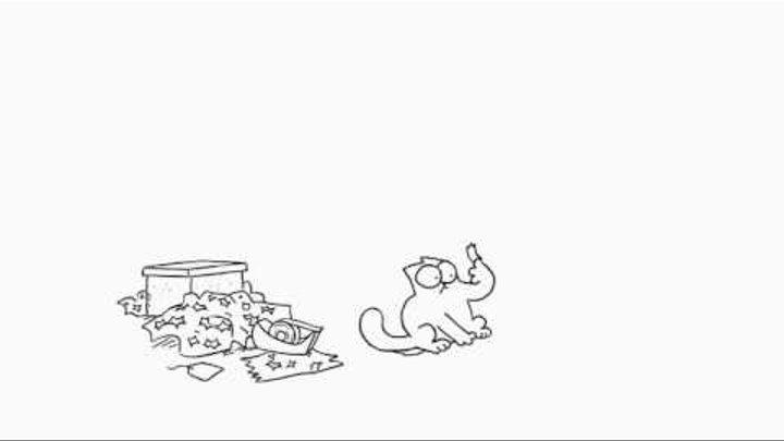 Кот Саймона: Клейкая лента (Эпизод 12)
