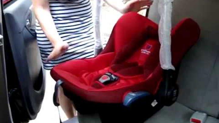 Автокресло для детей - автолюлька от рождения до 1 года