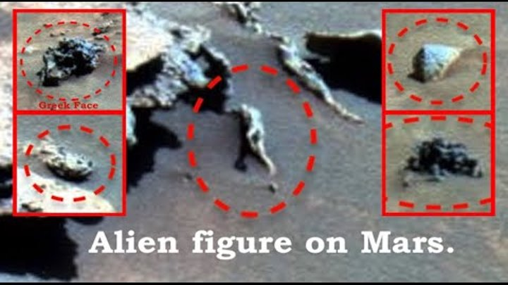 Alien Figure Found Near Mars Spirit Rover, NASA Source, UFO Sightings Daily.