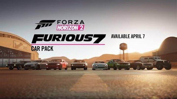 Forza Horizon 2 – Форсаж 7 новые машины DLC трейлер (XONE)