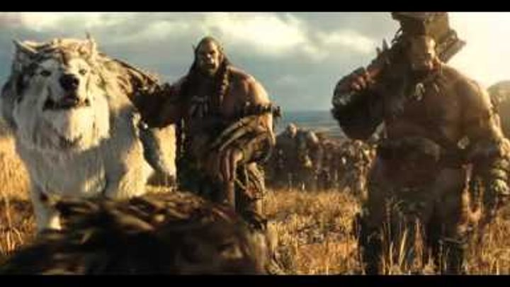 WARCRAFT Official Movie Trailer RUS HD 2016 трейлер варкрафта на Русском языке