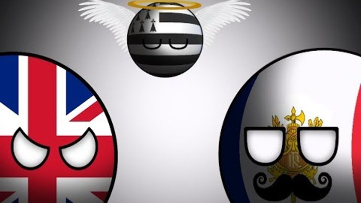 COUNTRYBALLS | Альтернативная Холодная Война | 1 сезон 10 серия | Франко-Британский конфликт