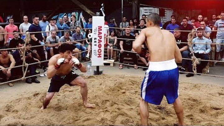 ТИГР против Борца боксера !! Супер Бой !!