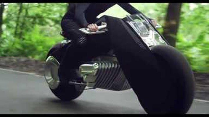 Мотоцикл будущего BMW Motorrad VISION NEXT 100 - Официальное видео