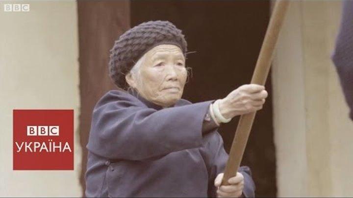 94-річна бабуся кунг-фу
