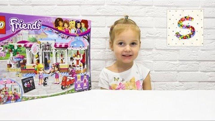 Лего Френдс МАГАЗИН СЛАДОСТЕЙ Lego Friends Софи Детское видео Конструктор