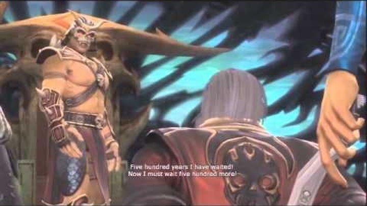 Mortal Kombat 2011 Русская озвучка Часть 4