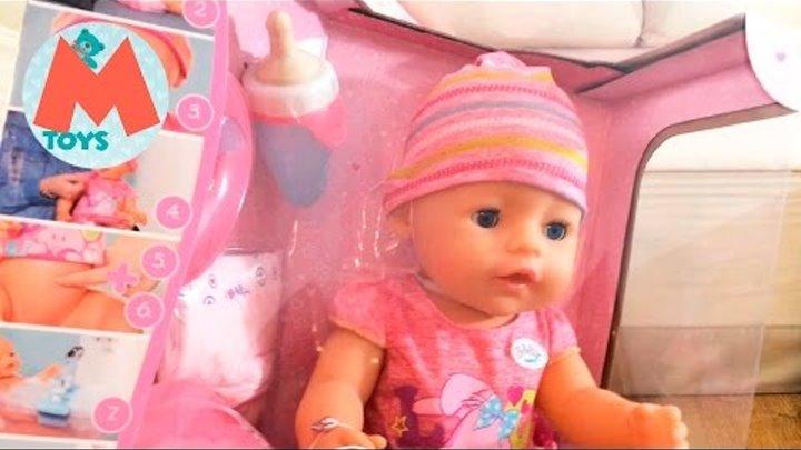 ❤ Новая кукла Беби Бон, распаковка. Теперь Маша Как Мама, будет ухаживать за Беби Боном ❤