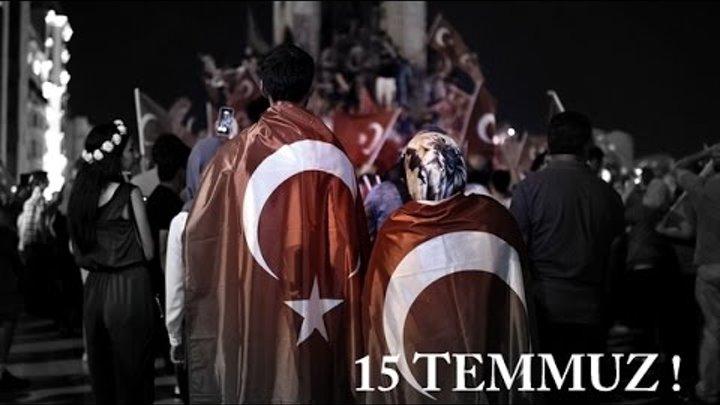 15 Temmuz Darbe Girişimi ve Demokrasi Şehitleri (Beyaz Hareket Ümraniye)