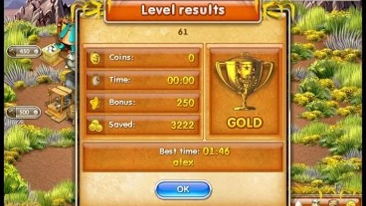 Farm Frenzy 3 American Pie (level 61) only GOLD Веселая ферма 3 Американский пирог Уровень 61 Золото