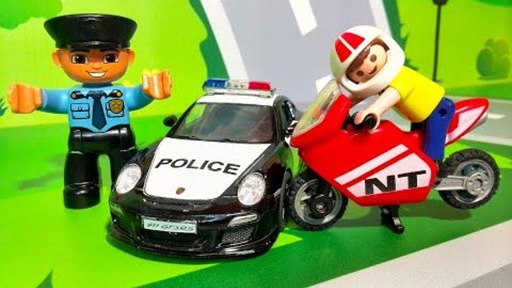 Мультики про машинки все серии подряд. Полиция - опасная езда в ЛЕГО городе. Видео для детей