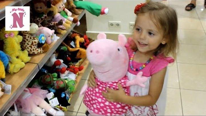 Кукла Беби Борн Сумка переноска ВЛОГ Магазин игрушек Shopping toys store Baby Born doll