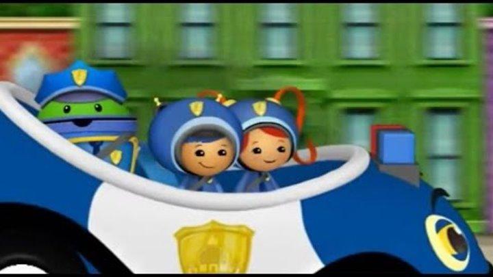 Команда умизуми и жучки - вонючки #1 Мультик Игра Гонки на машинках Развивающее видео